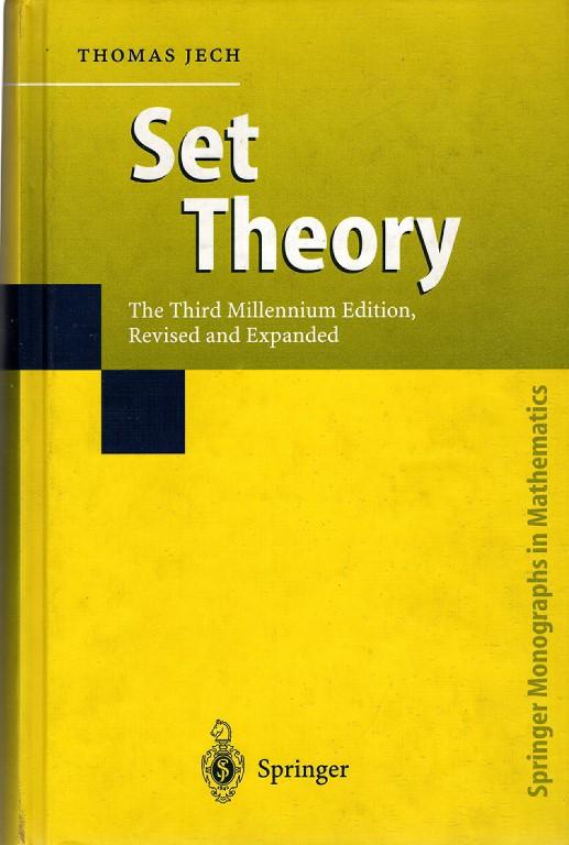 Set Theory, Jech, Thomas