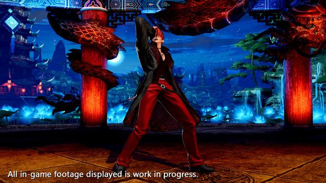 格鬥之王XV Iori Yagami預告片,截圖 The-King-of-Fighters-XV-2021-02-03-21-004