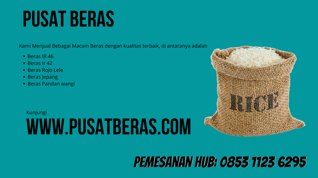 Distributor Beras Murah di Sumba Tengah wa 0853 1123 6295