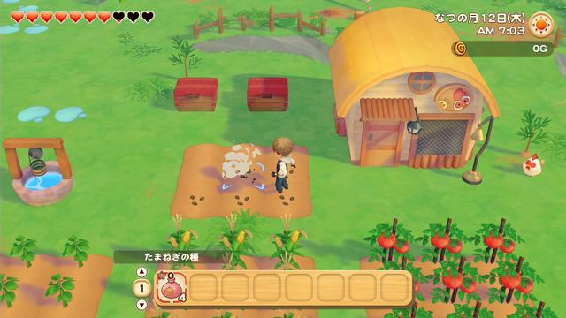 「牧場物語」系列首次在Nintendo SwitchTM平台推出全新製作的作品!  『牧場物語 橄欖鎮與希望的大地』 於今日2月25日(四)發售 019