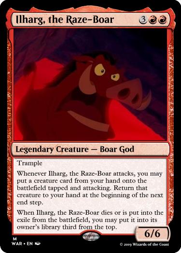 Ilharg, the Raze-Boar - The Rumor Mill - Magic Fundamentals