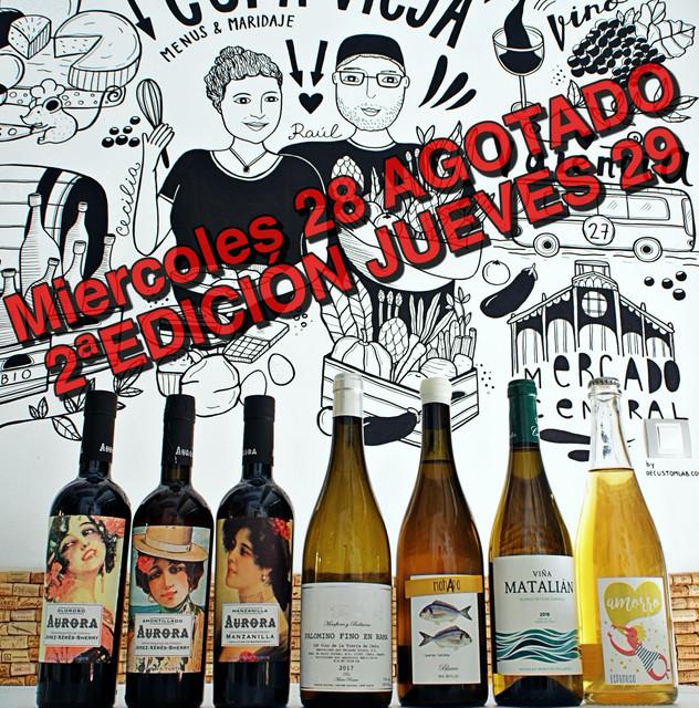 Catas de vino en Valencia La Cepa Vieja Palomino Fino