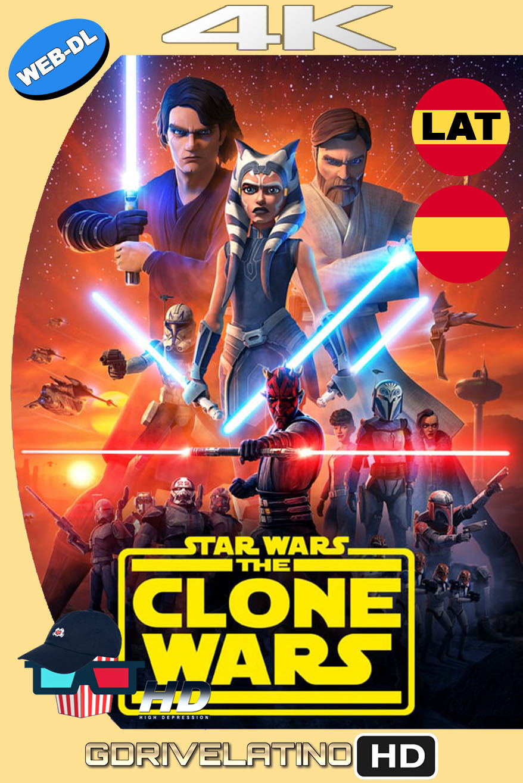 Star Wars: The Clone Wars (2008-2020) Temporada 07 [12/12] WEB-DL 4K HDR Latino-Castellano-Inglés MKV