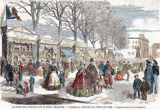 1850 foire aux santons marseille