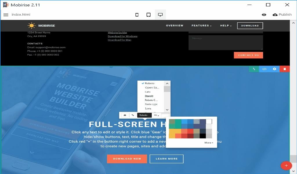 Website Marketing Site Code Software