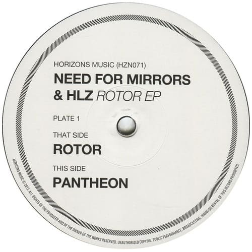 Download Need For Mirrors & HLZ - Rotor EP mp3