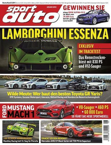 Cover: Sport Auto Magazin No 08 2021
