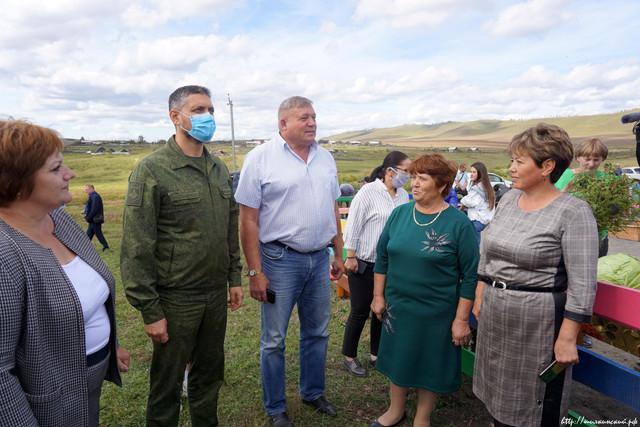 Глава региона посетил Шилкинский район