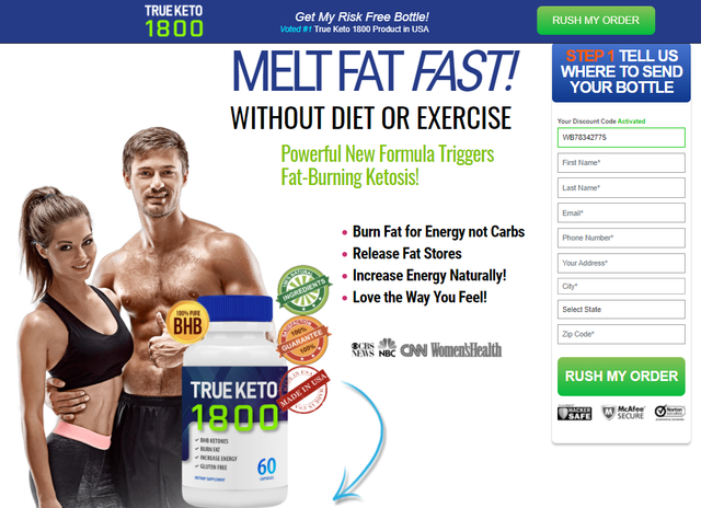 Tru Keto 1800 Exposed 2021 [MUST READ]: Does It Really Work?