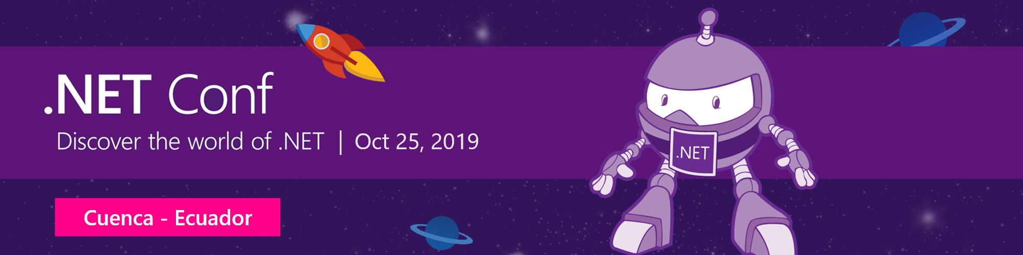 .NET Conf Ecuador 2019