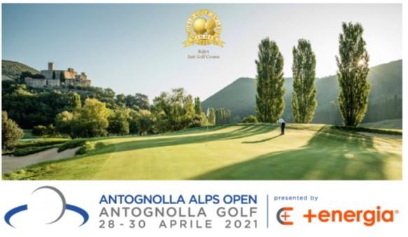 Antognolla Golf in Umbria ospiterà l'Alps Tour