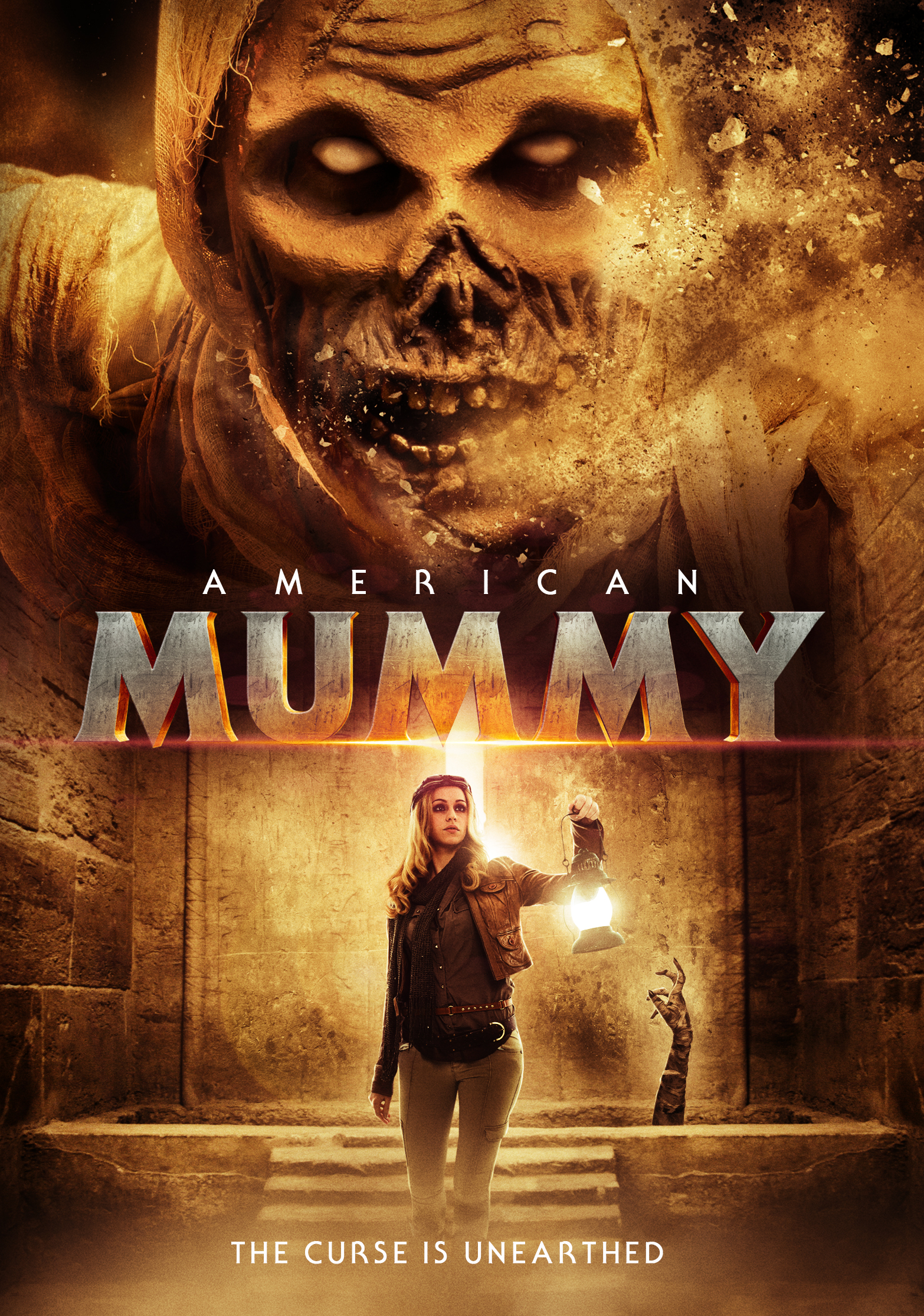 18+ American Mummy (2014) 720p Hindi Dubbed (DD 2.0) HDRip x264 AC3