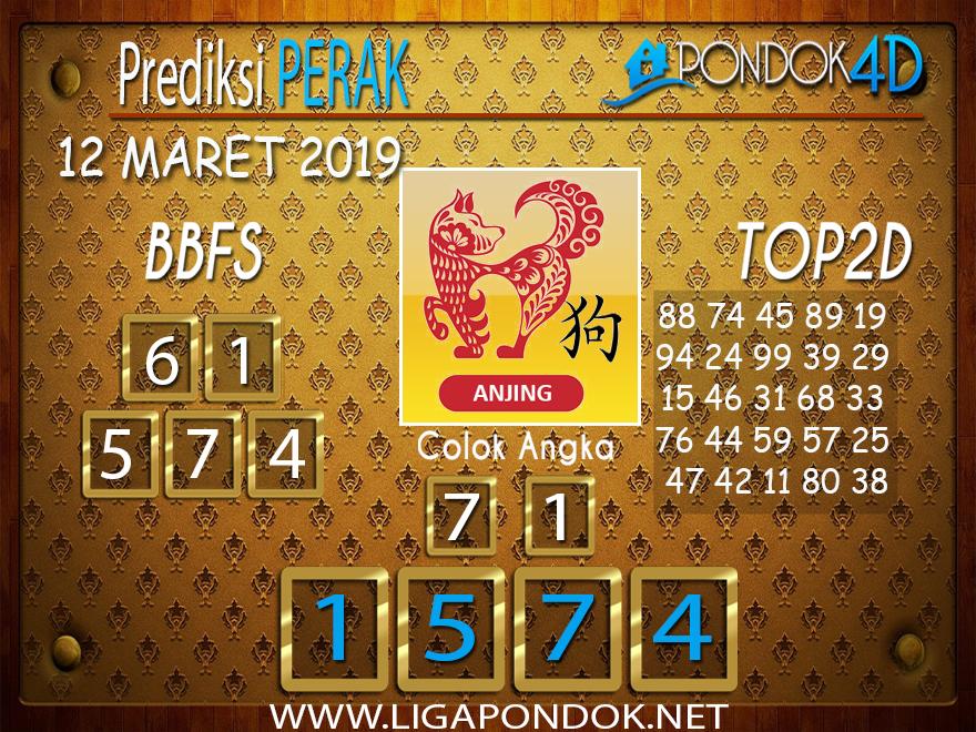 Prediksi Togel  PERAK PONDOK4D 12 MARET 2019