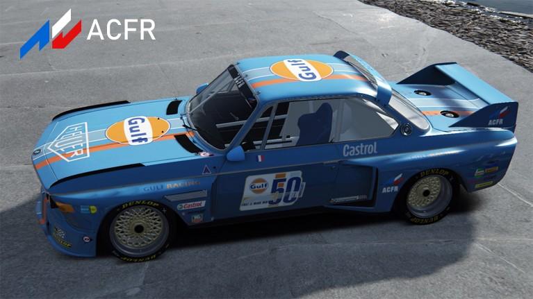 Championnat BMW CSL 3.5 Gulf2
