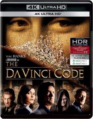 Il Codice Da Vinci (2006) FullHD 1080p UHDrip HDR10 HEVC AC3 ITA + E-AC3 ENG