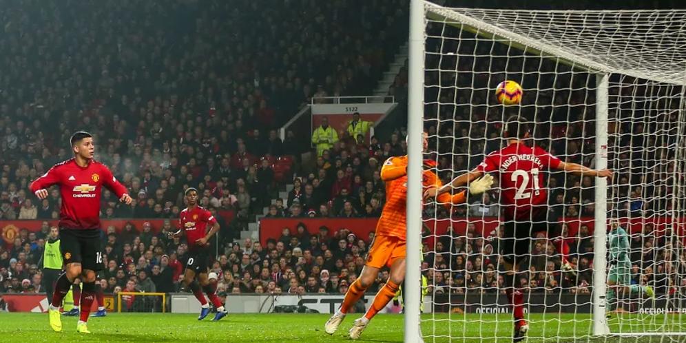 Manchester United VS Fulham 4-1 Hasil Liga Inggris - Cuplikan Gol