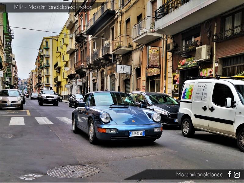avvistamenti auto storiche - Pagina 23 Porsche-964-911-Cabriolet-Carrera-3-6-250cv-90-BJ997-WG-85-370-24-7-2019