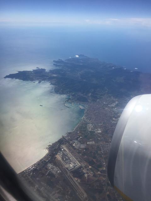 Ibiza dall'alto