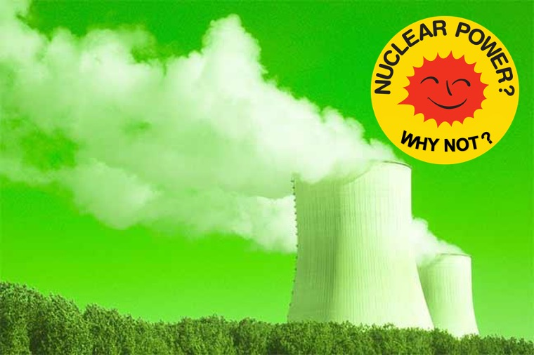 New Image for nuclear power: is it greenwashing?