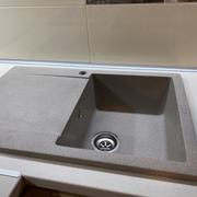 Кухонна мийка VANKOR Orman OMP 02.78 Terra + сифон VANKOR