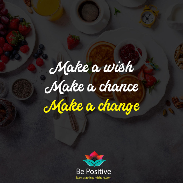 Make-a-wish-Make-a-chance-make-a-change