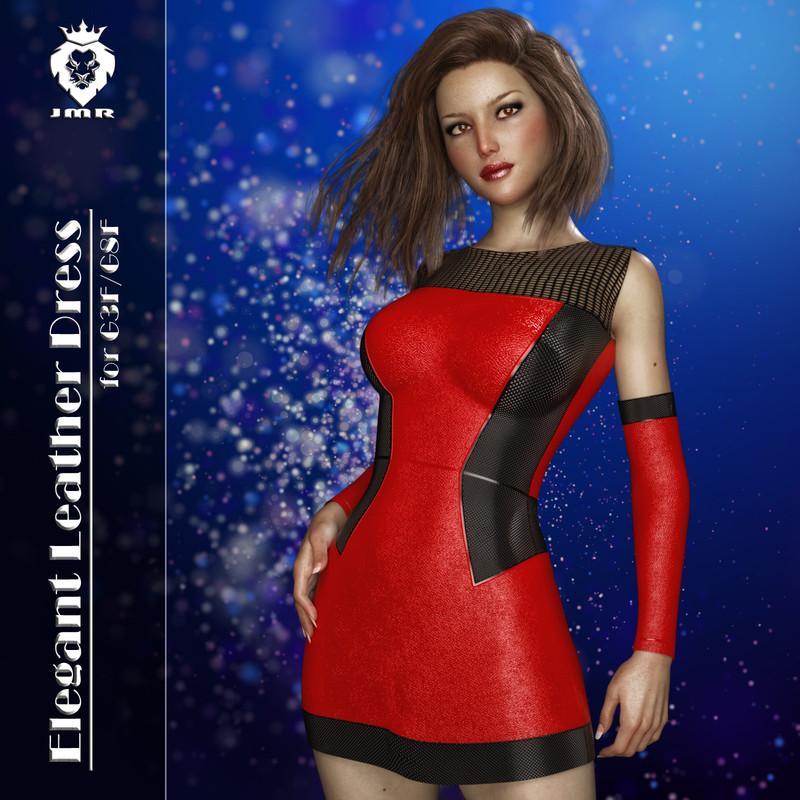 JMR Elegant Leather Dress for G3 F and G8 F