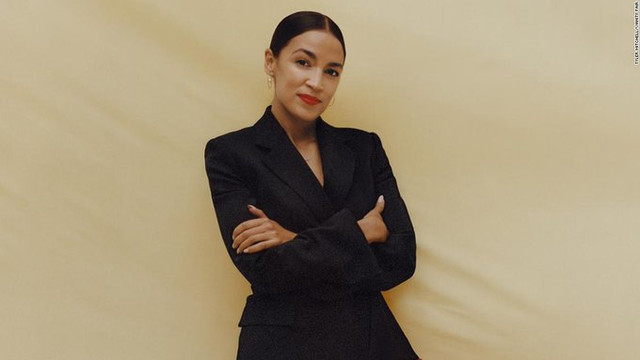 AOC on the cover of Vanity Fair