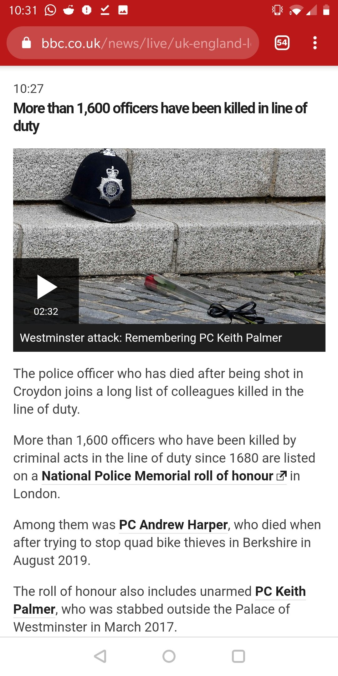 British Copaganda - Counting Police Deaths Since 1680 to Get Some Number