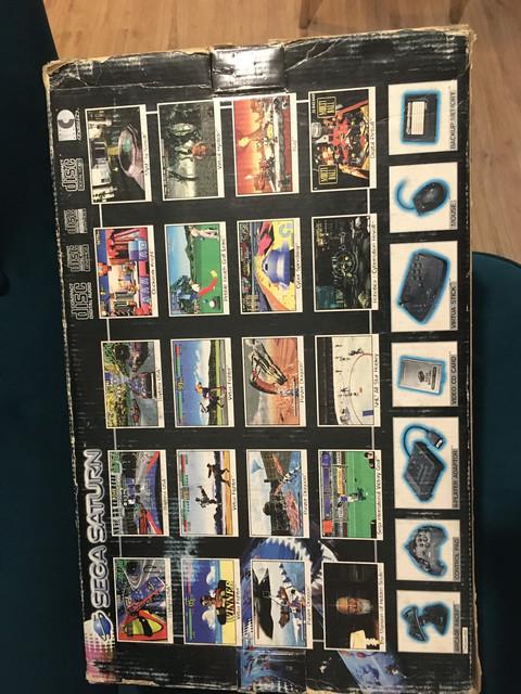 [EST] Sega Saturn PAL v1 en boite avec Fenrir + FRAM + Switchless 50/60Hz 6-A90-C648-1453-4065-B12-C-2-B274-D9694-DD