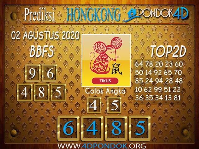 Prediksi Togel HONGKONG PONDOK4D 02 AGUSTUS 2020