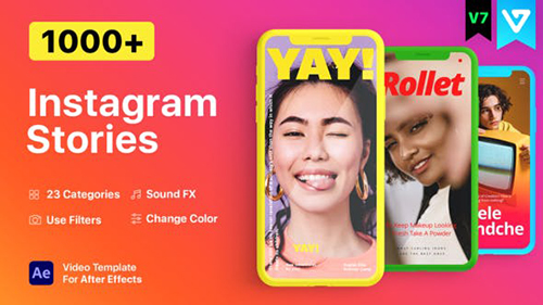 Instagram Stories v7.1 21850927 - Project & Script for After Effects (Videohive)