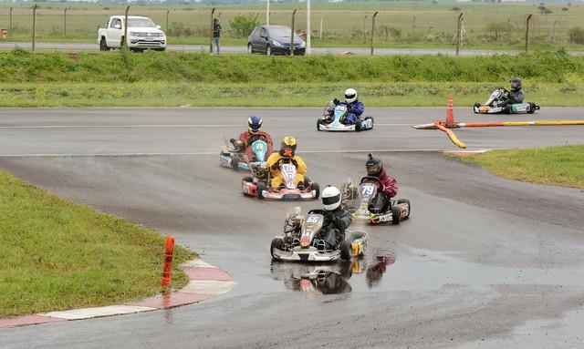 Entrerriano de Karting: El agua trajo dos campeones