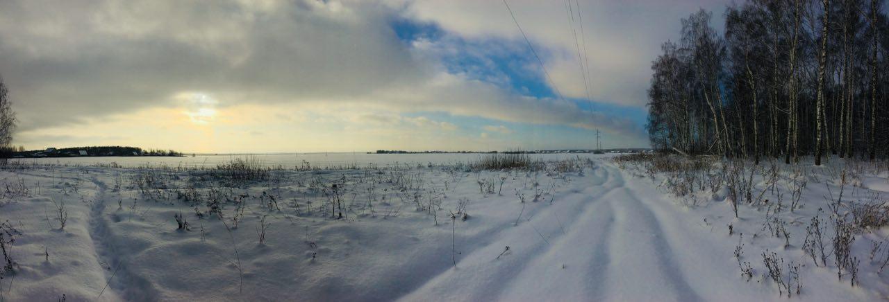 Прогулка Рождественским утром