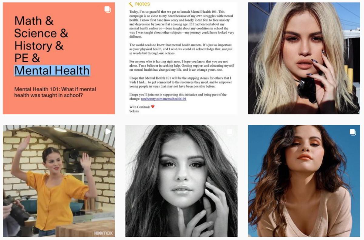 Selena Gomez annuncia una nuova campagna per la salute mentale