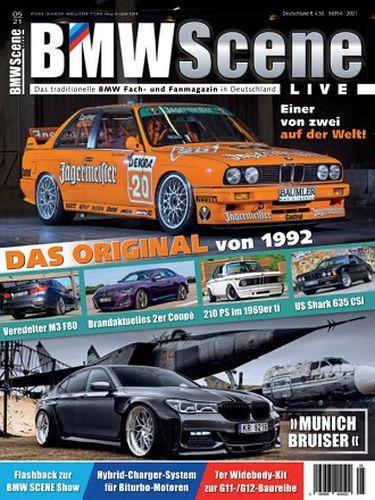 Cover: Bmw Scene Live Magazin No 05 2021