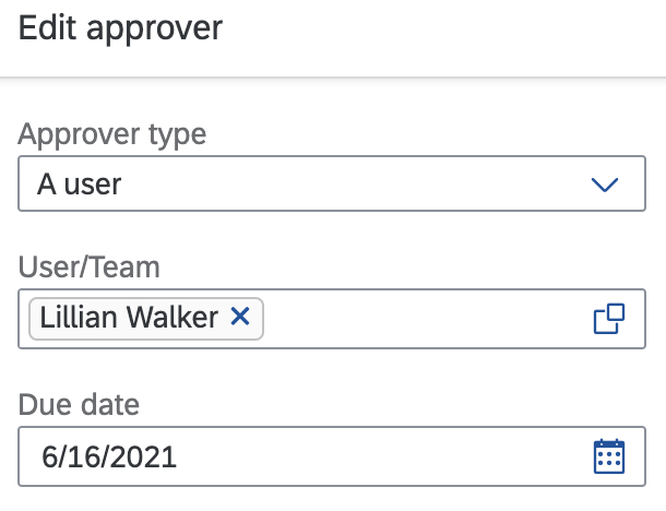 Approval Flow [checkDueDate]='false' before.