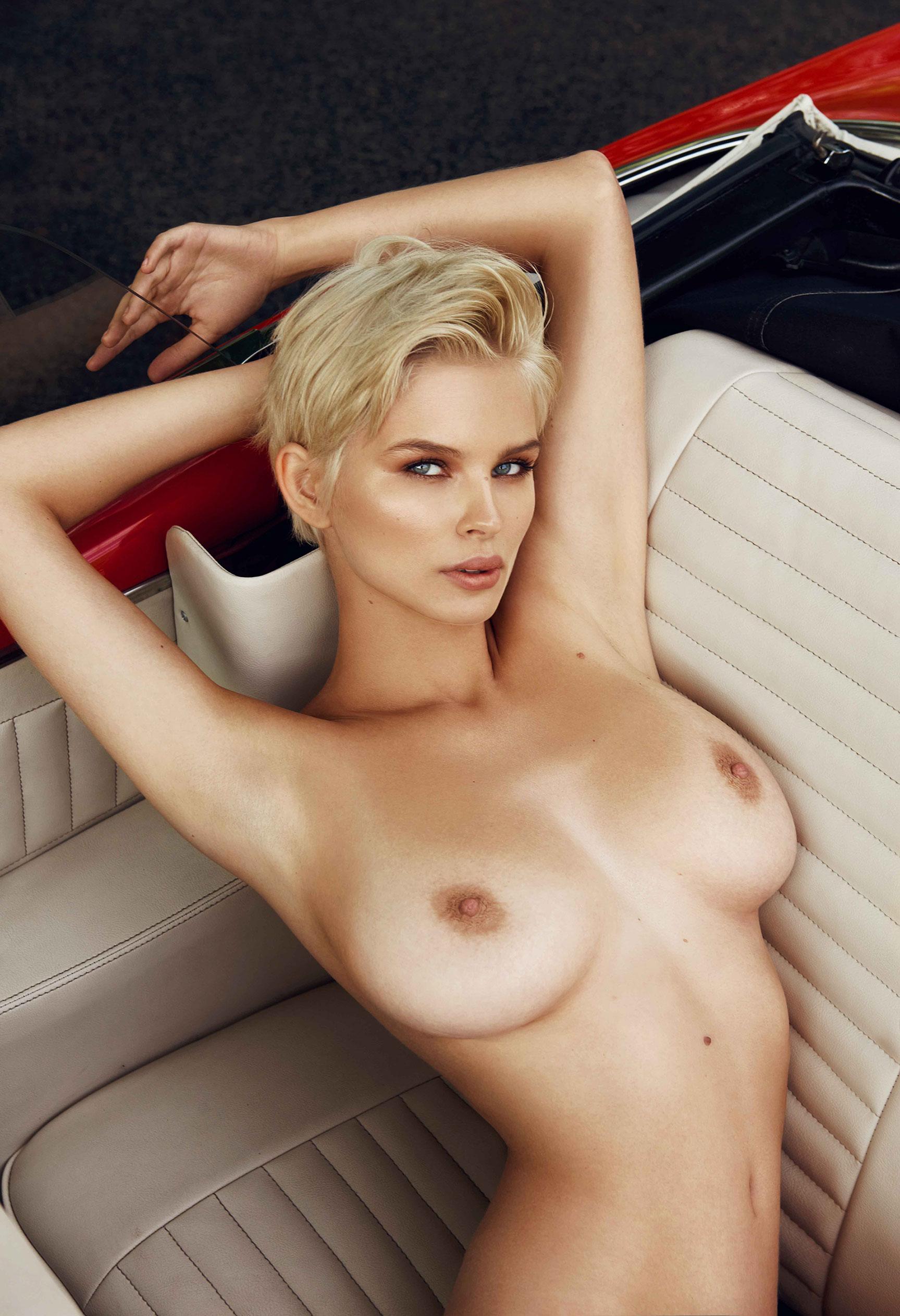 сексуальная полуголая Юлия Логачева в журнале Maxim Франция / фото 01