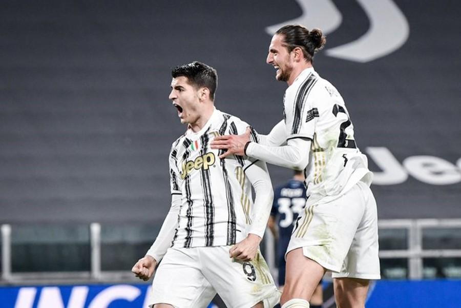 Juventus-Lazio 3-1, rimonta con doppietta Morata
