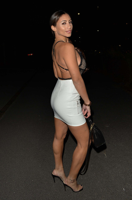 Big-Brother-and-Ex-on-the-beach-star-Kayleigh-Morris-seen-arriving-at-Sketch-Mayfair-for-drinks-with
