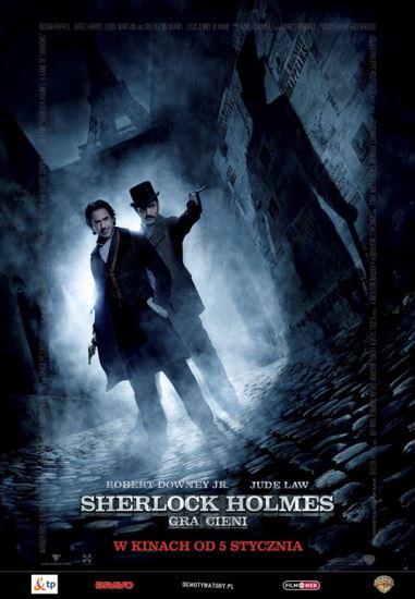 Sherlock Holmes: Gra cieni / Sherlock Holmes: A Game of Shadows (2011) PL.BRRip.XviD-GR4PE | Lektor PL