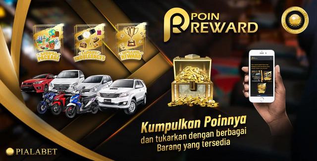 Poin Reward PialaBet