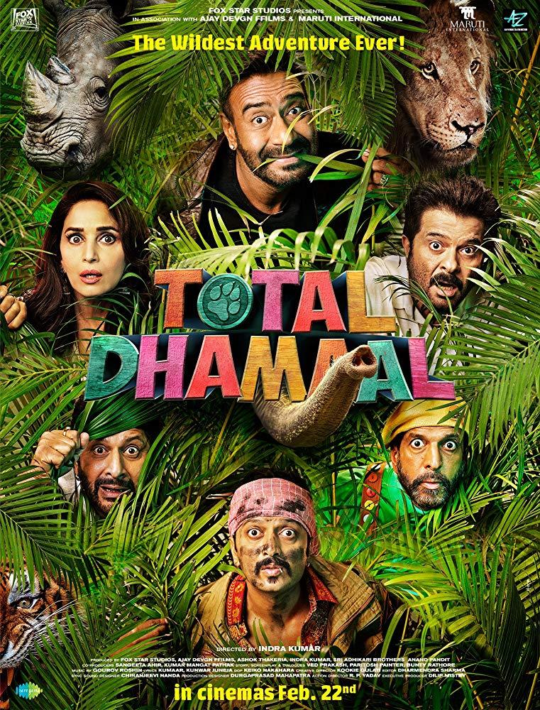 Total Dhamal 2019 Hindi HDRip x264 AC3