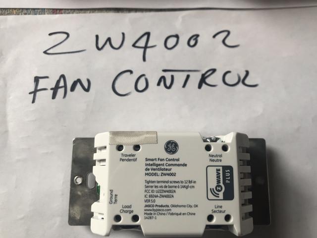 FS: 12x GE ZW4001 Switch, 1x ZW4002(Fan Control), 5x ZW2002 (Aux