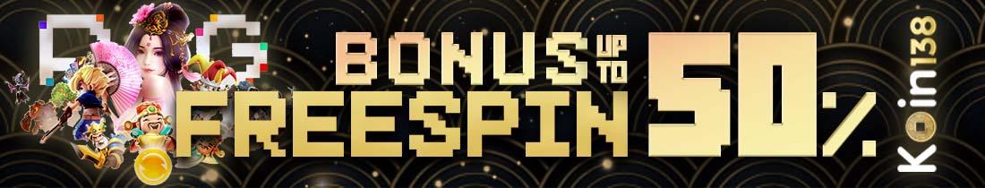 Bonus Freespin PG Soft Koin138