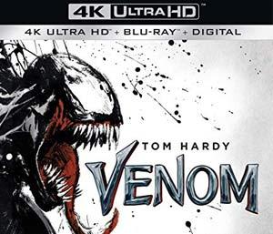 Venom Blu Ray