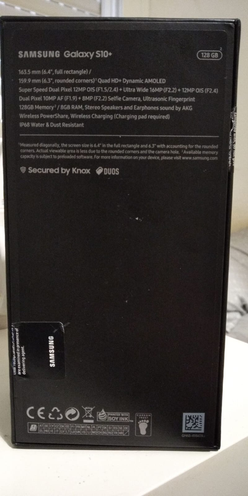 [VENDIDO]  Samsung Galaxy S10 Plus