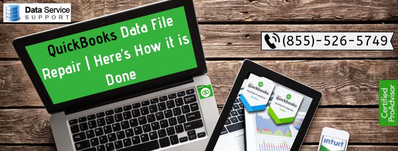 QuickBooks Data File Repair | How it Work