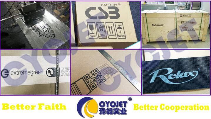 CYCJET Introduced The Right Way to use the carton handheld printer