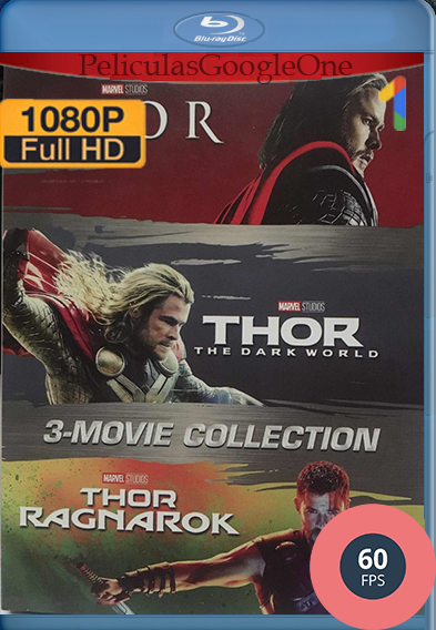 TRILOGÍA Thor (2011-2017) [1080p HD 60FPS] [Latino-Inglés] [GoogleDrive] – Wolf Levine