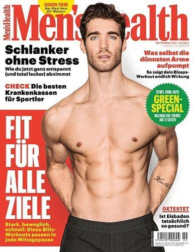 Cover: Mens Health Magazin No 09 September 2021